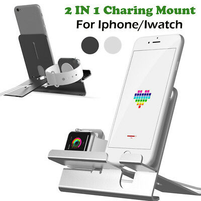 4 IN 1 Charging Dock Charger Bracket Accessory Holder For iPhone 8/Apple Watches