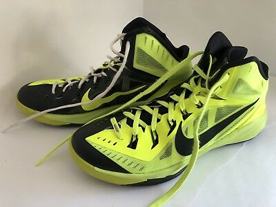detailed pictures 613dd 93a38 2014 Nike Hyperdrunk PROMO SAMPLE SIZE 13 - Volt Black