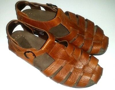 1c9d35c3bb MEPHISTO SAM Leather Fisherman Sandals ~ Men's EU Sz 45 - US Sz 11 ~ $289