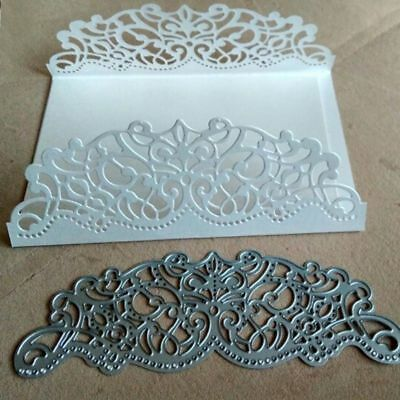 Metal Cutting Dies Scrapbook Stencil Embossing DIY Paper Album Decor Lace Hollow