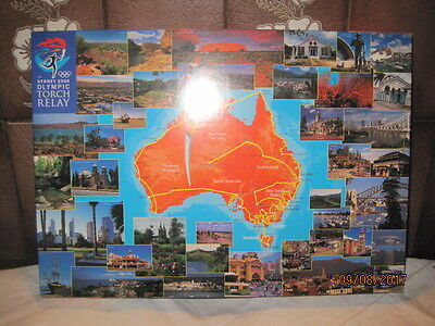 Sydney 2000 Olympic Games Torch Relay Jigsaw Puzzle-1000 Piece-Complete