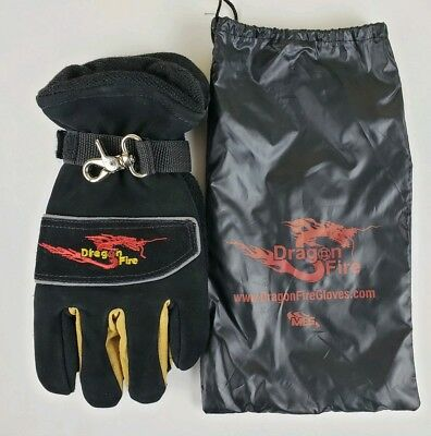 Dragon Fire Alpha X NFPA Firefighting Gloves Size Large