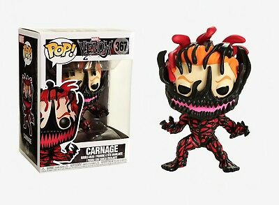 Funko Pop Marvel Venom: Carnage Vinyl Bobble-Head Item #33073