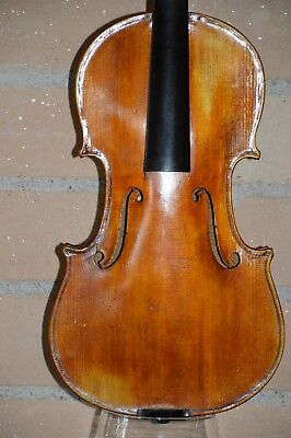 Old Violin, Italian label Paolo TRUSARDI 1902, good condition