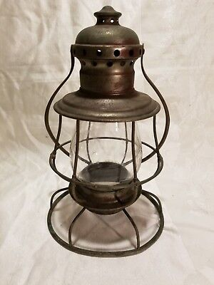 Antique Lehigh Valley Railroad, LVRR PA Presentation Conductors Lantern