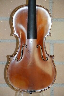 Old Violin, French label G.APPARUT 1929, good condition