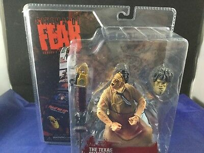 The Texas Chainsaw Massacre Cinema of Fear Leatherface Action Figure 2007 NEW