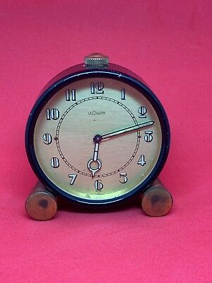 Vintage Lecoultre 8 Day Clock Runs No Reserve!