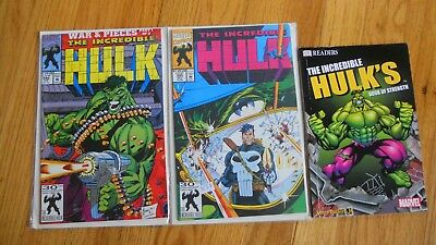 The Incredible Hulk Lot O 2 #  290, 295 And Book of Strength Proficient 4 Reader