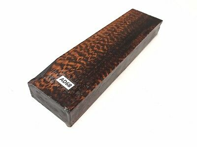 Snakewood Turning Pen Call Knife Scale Handle Cue Exotic Wood Blank Lumber AD68