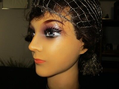 Vintage Women's Mannequin Cosmetology Rubber Head Display.