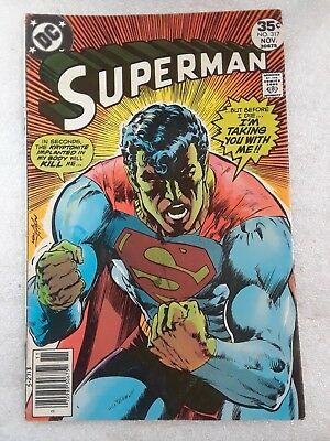 Superman 317 November 1977. DC. Classic Neal Adams cover