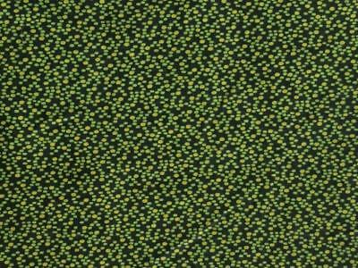 ~Back In Time Textiles~Fantastic 1860 Civil War Overdyed Green Calico fabric