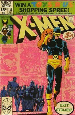 Uncanny X-Men (Vol 1) #138 (FN (Fne Plus Precio Variante de Marvel Comics Orig U