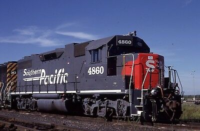 Southern Pacific GP38-2 # 4860 ( ex SP ) @ Lathrop, CA 6/15/1998