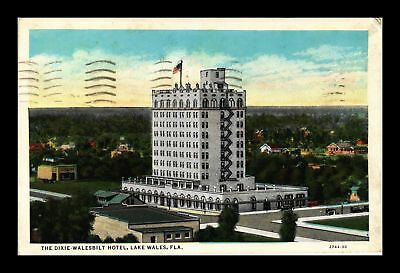 Dr Jim Stamps Us Dixie Walesbilt Hotel Lake Wales Florida View Postcard