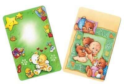 Swap Card -  Blank Back ~ Cute Baby Babies ~ 2 Cards