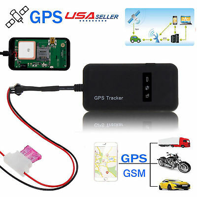 US Car GPS Tracker Real Time Global GSM Tracking Locator Anti-theft Spy Device