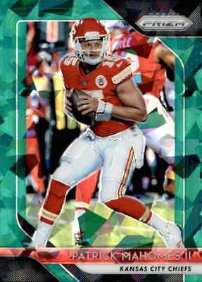 2018 Panini Prizm Green Crystals ( Pick Your Card )