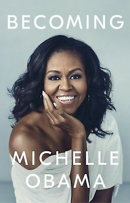 Becoming by Michelle Obama 2018 Hardcover Book First Lady United States Memoir