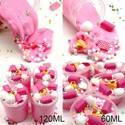 Cloud Cake Milk Puff Squishies Mud Slime Putty Scented Stress Clay Sludge Toy CE