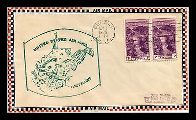 Dr Jim Stamps Us Dunbar West Virginia First Flight Air Mail Cover Ac Roessler