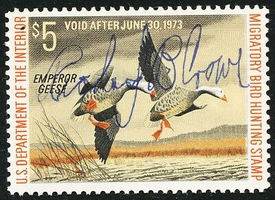 Dr Jim Stamps Us Department Of Interior Duck Scott Rw39 $5 Used No Reserve