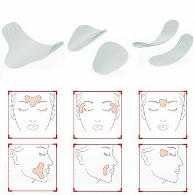 Frown Smile Lines Forehead Ultra Thin Facial Lift Patches for Wrinkles Lines CE