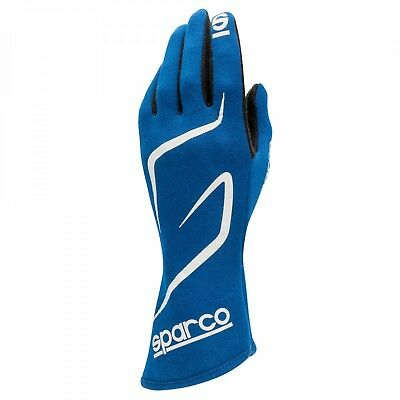 FIA Sparco Land RG-3.1 Gloves size 11 Blue Rally Race Kart NOMEX Sport Tuning
