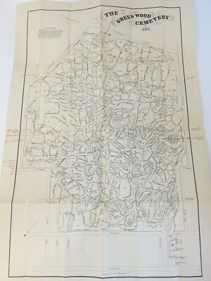 1907 Greenwood Cemetery Plot Map and Pricing, Brooklyn, NY