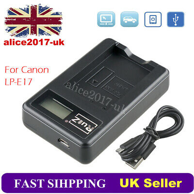 USB Battery Charger LP-E17 For Canon EOS 750D 760D 800D EOS M3 M5 M6