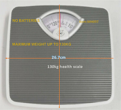 130kg Mechanical Personal Bathroom Gym Body Weight Scales 3 color