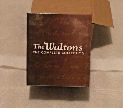 The Waltons Complete Series DVD Gift Box Set Seasons 1-9 + 6 Movies Collection
