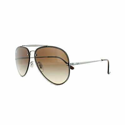 083c911fbe40c6 Ray-Ban Sunglasses Blaze Aviator RB3584N 004 13 Gunmetal Brown Gradient 58mm