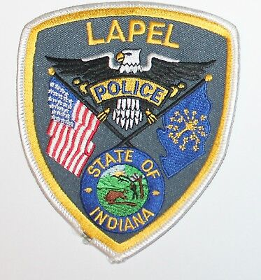 LAPEL POLICE Indiana IN PD patch