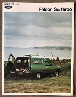 1974 Ford Falcon Surferoo original Australian sales brochure