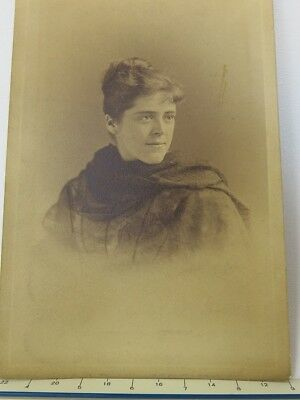 Antique Cabinet Card Photo- Graduating Woman- George Frank E. Pearsall- Brooklyn