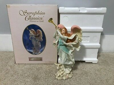 "Seraphim  Angel 14"" Annalisa Joyful Spirit #81465 Missing Coa"