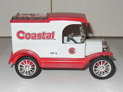 ERTL Coastal 1913 Ford Model T Delivery Truck Diecast Truck Bank