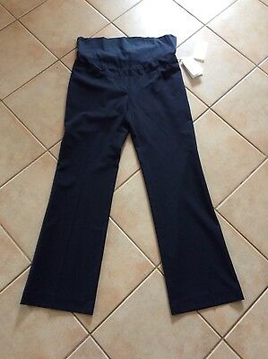 Superior Fit Maternity Navy Blue Work Career Pants Size 12 NWT