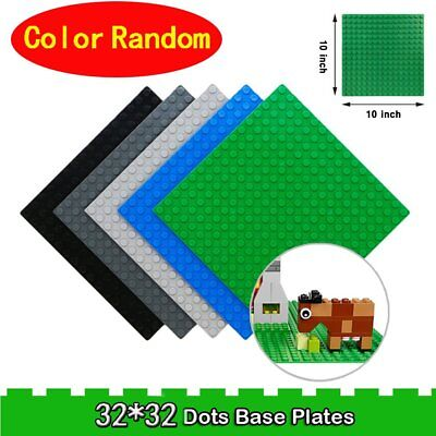 Building Base Plates Board 32x32 Dots DIY Building Blocks Educational Toy n9