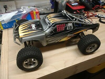 Team Losi Desert Truck Clear Body With Stickers 1//10 LOSB8061