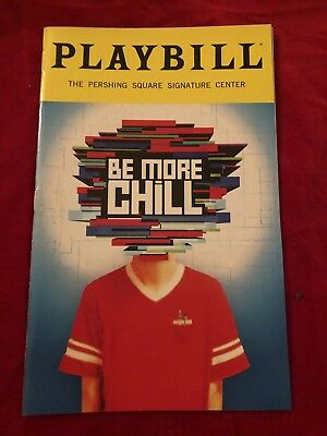 Be More Chill Off Broadway Playbill