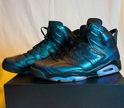e7ff5c262f93 Nike Air Jordan 6 VI Chameleon All Star Gotta Shine 907961-015 Mens Size13