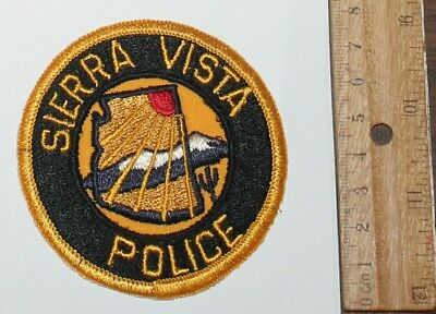 SIERRA VISTA POLICE Arizona AZ PD patch