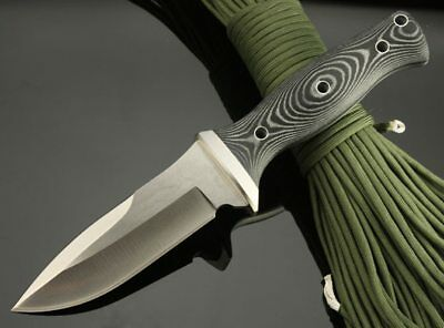 OUTDOORS Survival Knife Outdoor D2 Steel High Hardness Small Straight Knife