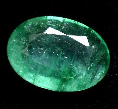 Loose Gem Stone 4.25 Ct Natural Green Colombian Emerald AGSL Certified From Muzo