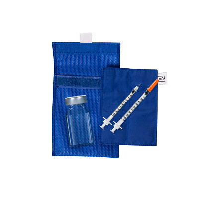 Gluycology® Diabetic Insulin Vials Cooling Wallet | Insulin Travel Bag