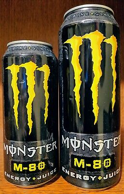 M-80 Monster Energy Drink cans (10)