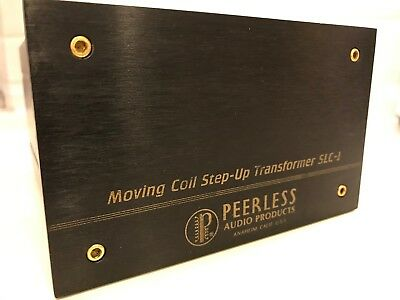 PEERLESS SLC - 1  MC transformer for Ortofon, EMT, KOETSU, SUPEX